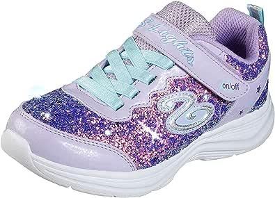 Skechers Glimmer Kicks - Glitter N'glow Girls Sneakers