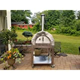 ilFornino Platinum Series Stainless Steel Wood Fired Pizza Oven