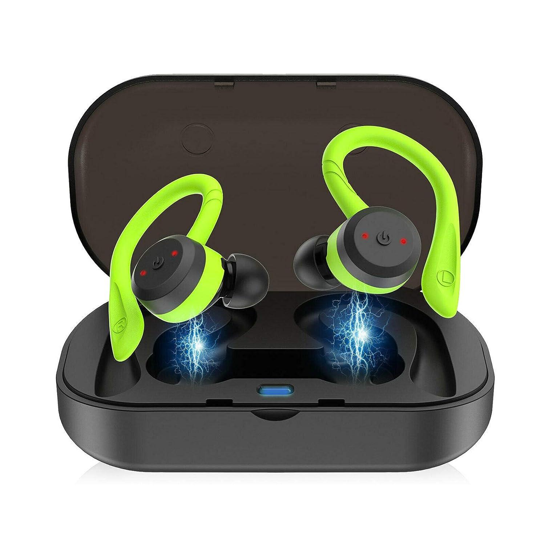 DAAG Mini True Wireless BT 5.0 Earbuds Sport Twins in-Ear HiFi Earphones Headset Green