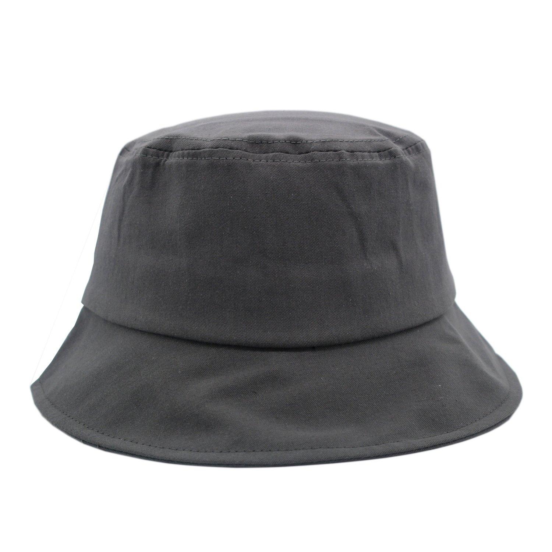 JEDAGX Cappello da pescatore, cappello da pesca in cotone unisex Cappello da pesca pieghevole da pescatore da spiaggia, collocazione abbigliamento, 58cm