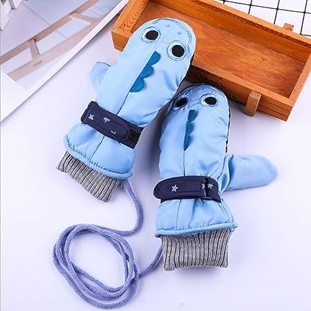 Guanti da sci per bambini sci impermeabili pattinaggio su ghiaccio Shenruifa invernali et/à 4-9 anni ragazzi e ragazze per snowboard caldi e caldi da neve