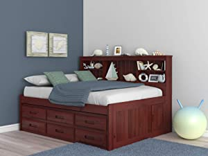 Discovery World Furniture 2823-82893 Daybed, Full, Merlot