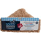 Soggy Doggy Super Shammy Beige One Size 31-inch x 14-inch Microfiber Chenille Dog Towel with Hand Pockets