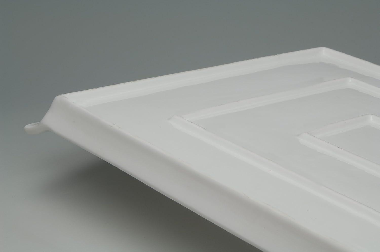 40 x 27 cm Credenza Rettangolare in Porcellana Urban Lifestyle