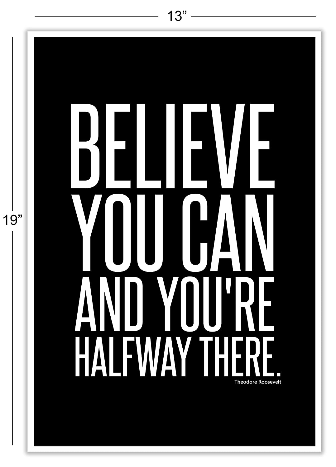 Motivational Inspirational Famous Quotes Teen Boy Girl Sports Wall Art Posters Decorative Prints Black White Workout Fitness Wall Decor Home Office Business Classroom Dorm Gym Entrepreneur The Proverbs Store 8 x 10