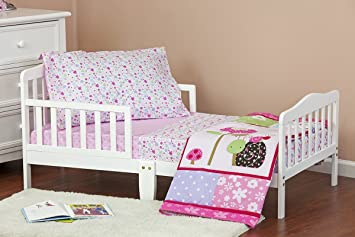 Dream On Me Spring Time 4 Piece Toddler Bedding Set