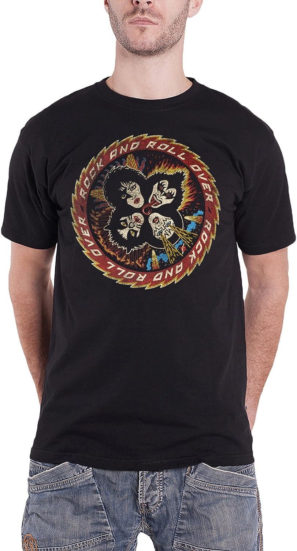 """KISS /""""Colour Gradient Logo/"""" T-shirt-NOUVEAU /& OFFICIEL!"""