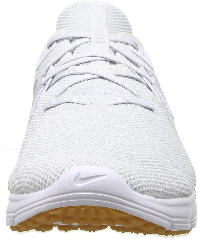 Nike Herren Air Max Sequent 3 Fitnessschuhe White/Pure Platinum