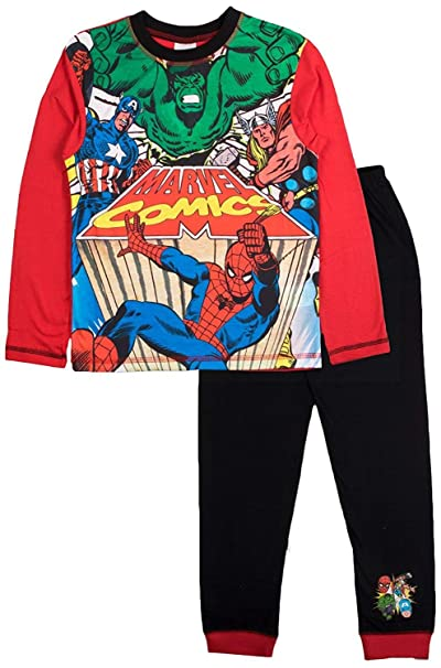 Boys Marvel Comics Snuggle Fit Pyjamas 11-12 Years: Amazon.es: Ropa y accesorios