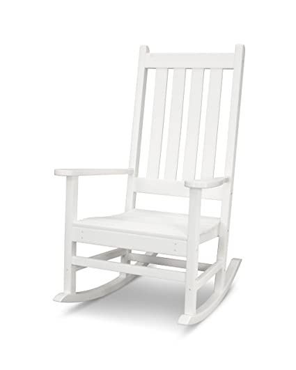 Superb Amazon Com Polywood Vineyard Porch Rocking Chair Slate Pdpeps Interior Chair Design Pdpepsorg