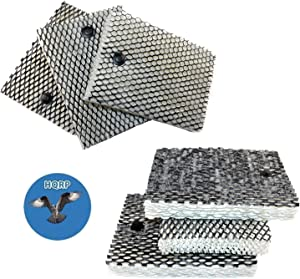 HQRP 6-Pack Filter Works with Bionaire BCM740 BCM740B BCM740W BCM7309 BCM7305 BCM7307 BCM7308 Humidifier Plus Coaster