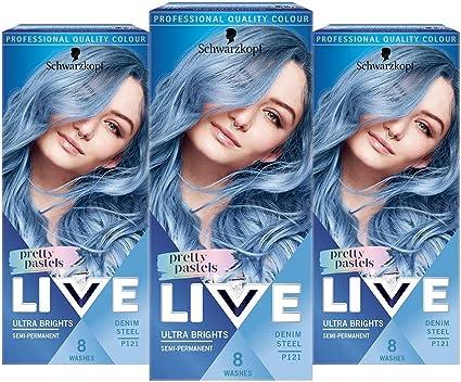 Tinte para el cabello de colores intensos vivos de Schwarzkopf