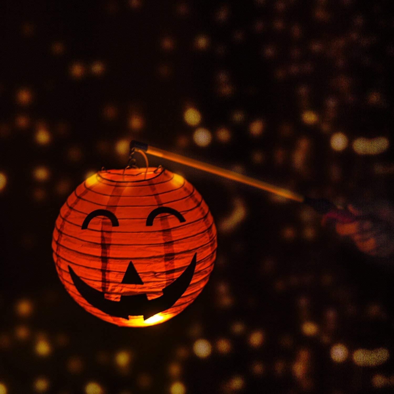 Junlic 6er-Pack Laternenstab mit LED LED Elektronischer Laternenstab Lampion Stab Latern Sticks f/ür Kinderpartys Martins Weihnachten Kindergarten Kost/ümpartys Laternenumzug Halloween St