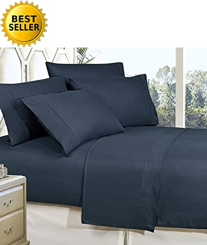 Egyptian Bed Sheet Set 1800 Thread Count 4 Piece Deep Pocket /& Comfort 7 Colors