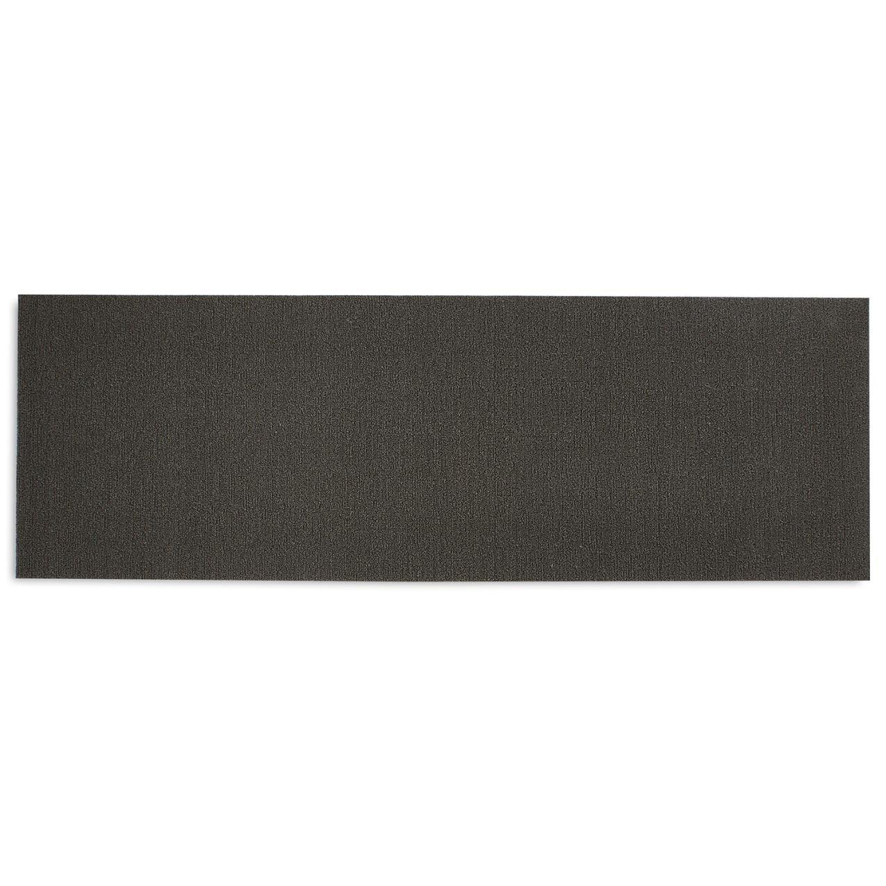 Chilewich Shag Solid Floormat Runner 24'' X 72'' Mercury