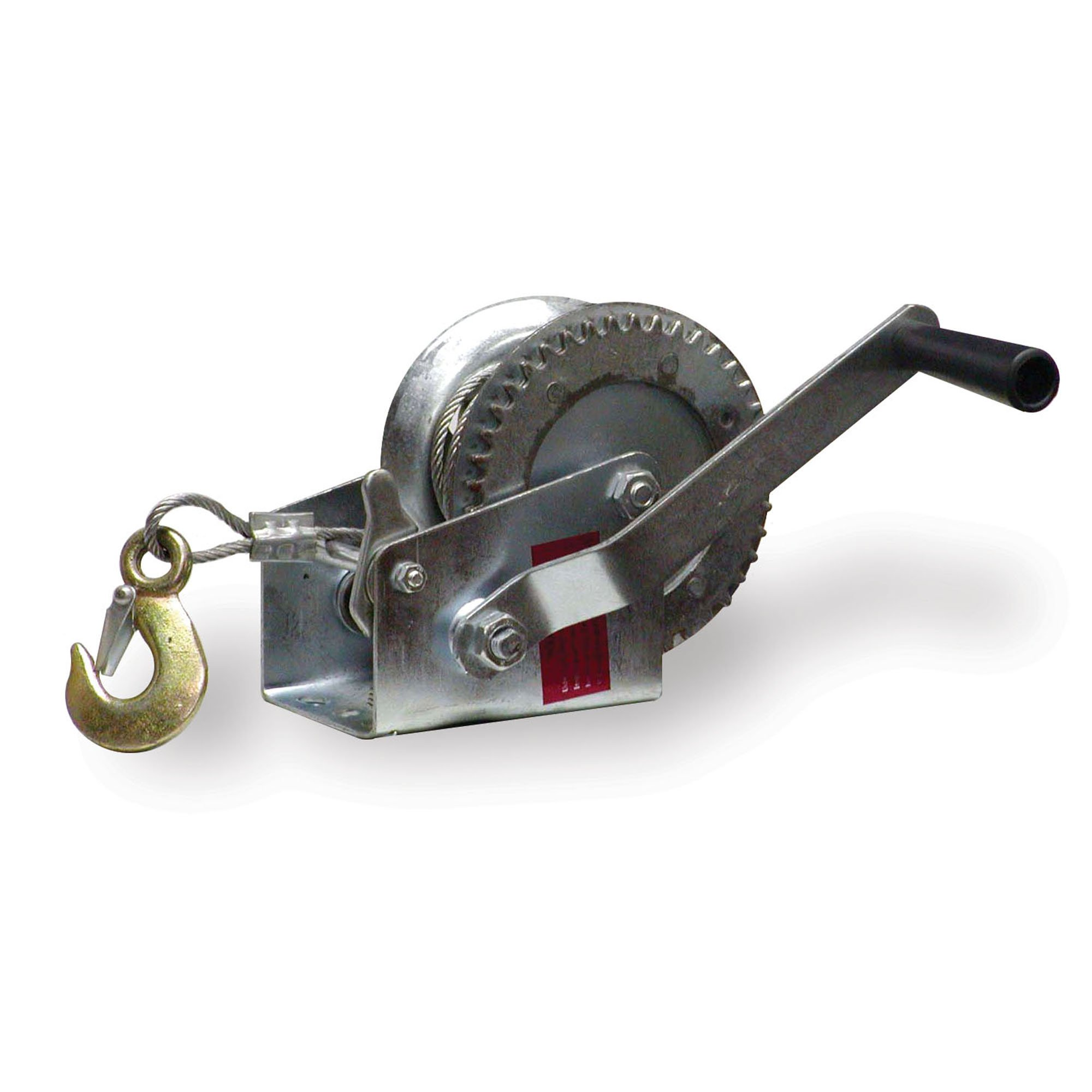 Sportsman Series W1000 1000 lb 1/4'' x 32' Steel Cable Hand Winch
