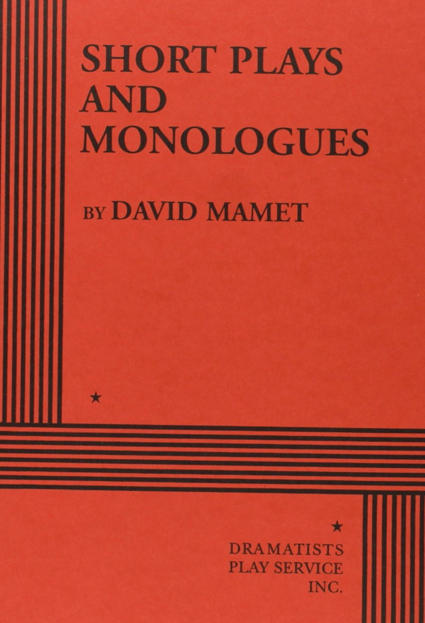 Short Plays Monologues David Mamet product image