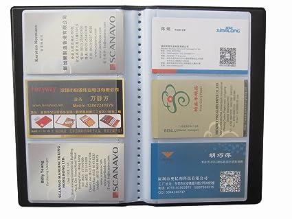 Amazon business card holder 150 pocket book style leather business card holder 150 pocket book style leather business card book holder journal business card organizer colourmoves