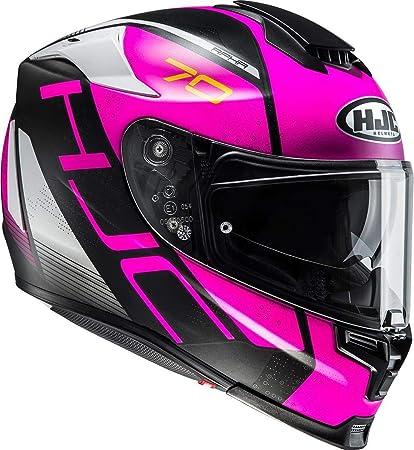 Amazon.es: Casco integral/casco deportivo HJC RPHA 70 - VIAS / MC8SF, tamaño: XXS