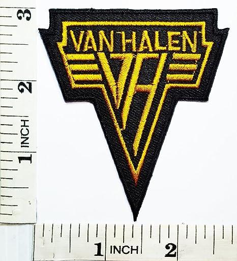 Van Halen Punk Rock Heavy Metal Música Banda parche chaqueta ...