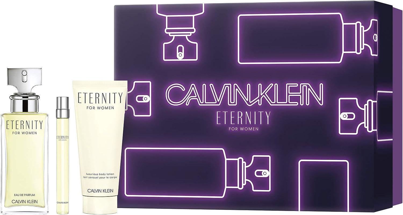 banner Kit eternity + hidratante + mini perfume