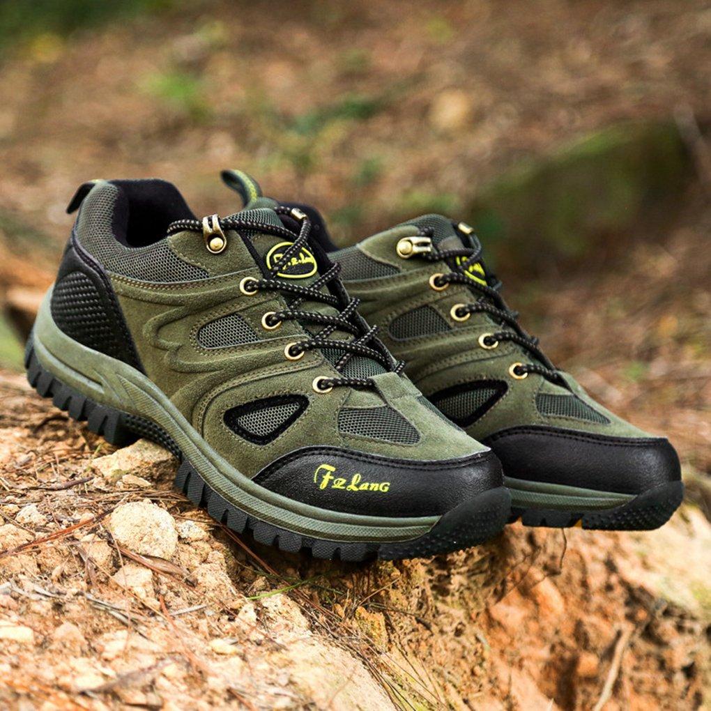 Bergort Hiking Boots Men Waterproof Anti-Slip Climbing Mountain Shoes