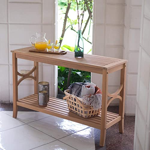 Cambridge Casual Solid Wood Chester Patio Console Table