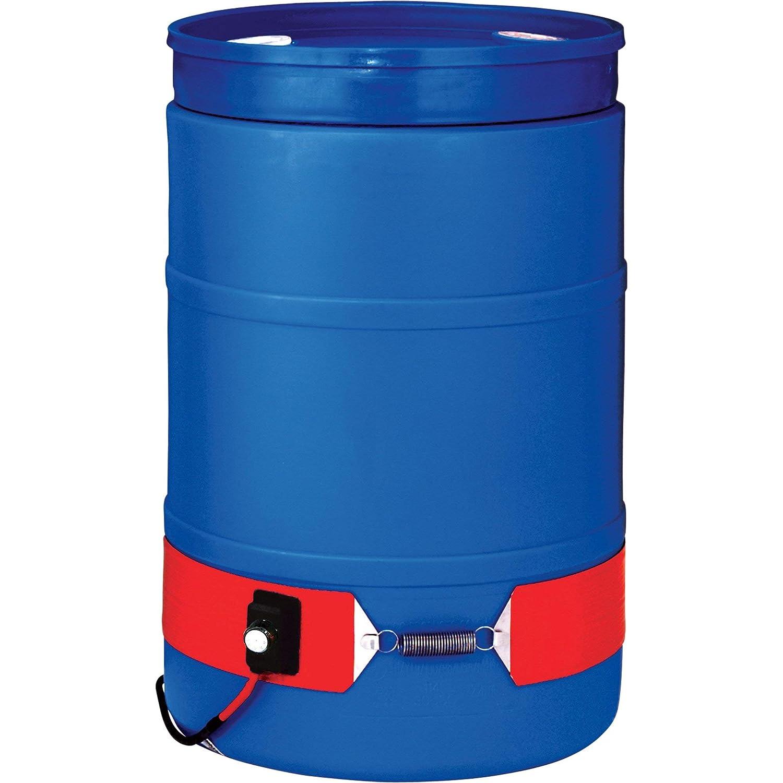 BriskHeat Plastic Drum Heater - 55-Gallon, 300 Watt, 120 Volt, Model Number DPCS15