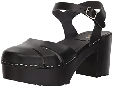 cec2117966d swedish hasbeens Women s Baskemolla Sandal Black Sole