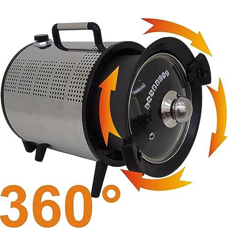 Syntrox Germany - Acero inoxidable Horno de aire caliente KC de 5 ...