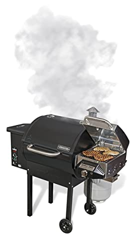 Camp Chef SmokePro DLX Wood Pellet Outdoor BBQ Grill and Smoker
