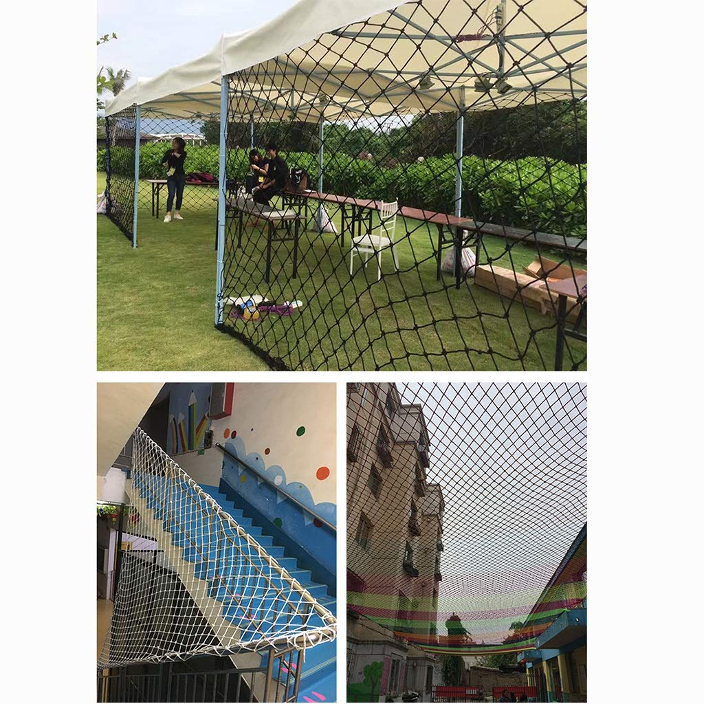 Wlh Children's Cats and Dogs Pet Safety Net Protective Net Rope Net Nylon Net Trampoline Fence Net Isolation Net (Size: 4mm, Rope 10 cm Hole) (Color: Yellow) (Size : 18m) by Wlh (Image #4)