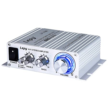 e066e491eedfc9 Image Unavailable. Image not available for. Color: FisherMo Mini Amplifier, Home  Audio Stereo Bass Music Streaming Digital ...