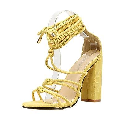 Sandales Femmes Sexy Chaussures Hautes Femme été Tendance