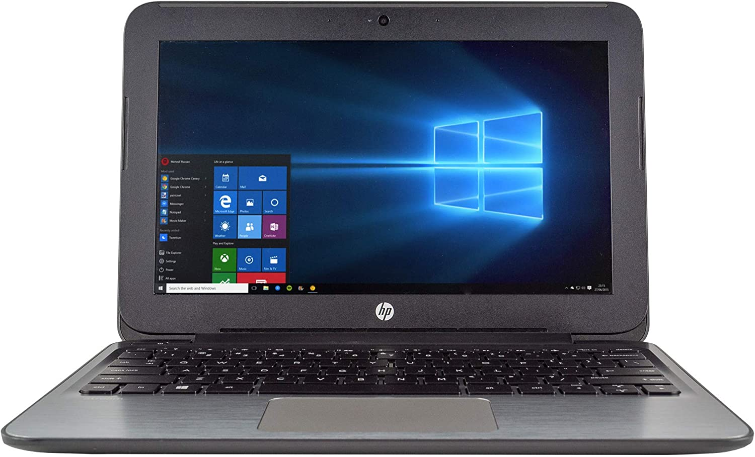 "HP Stream 11 Pro G2 Laptop Computer 11.6"" LED Display PC, Intel Dual-Core Processor, 4GB DDR3 RAM, 64GB eMMC, HD Webcam, HDMI, WiFi, Bluetooth, Windows 10 (Renewed)"