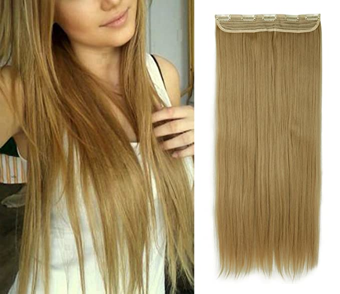 Fut 150g 26 One Piece Hair Extensions Clip In Synthetic Straight