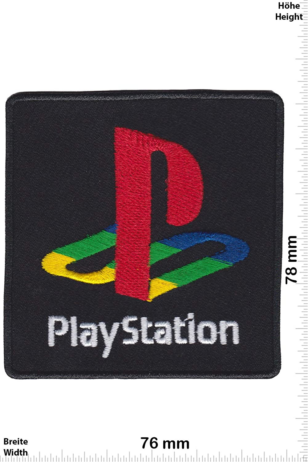 Patch - Playstation - Sony - Nerd -Nerd -Sony - Iron on Applique Embroidery Écusson brodé Costume Cadeau- Give
