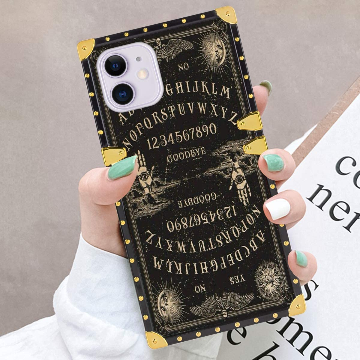 Ouija Board Case Compatible with iPhone 11 (2019) 6.1inch for Girls Women Teens