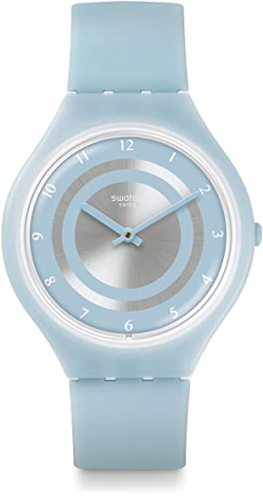 Swatch Reloj Digital para Unisex de Cuarzo con Correa en Silicona SVOS100: Amazon.es: Relojes