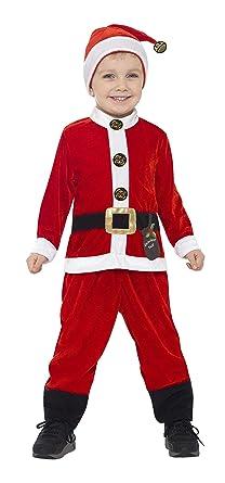 Amazon.com: Smiffy s 21488s Papá Noel disfraz infantil ...