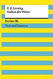 Nathan der Weise: Reclam XL – Text und Kontext (German Edition)