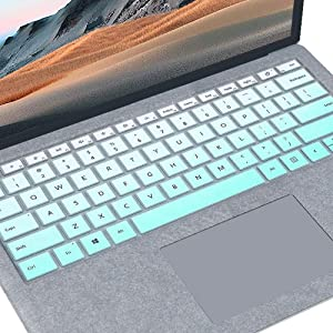 "Keyboard Cover Design for 2020 2019 Surface Laptop 3 13.5"" and 15"" 