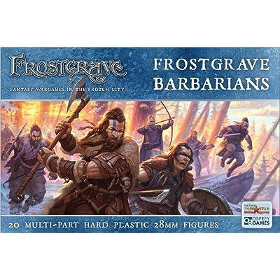 Frostgrave Osprey Games Barbarians FGVP04: Toys & Games