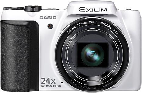 Casio EX-H50WH - Cámara compacta de 16.1 Mp (pantalla de 3