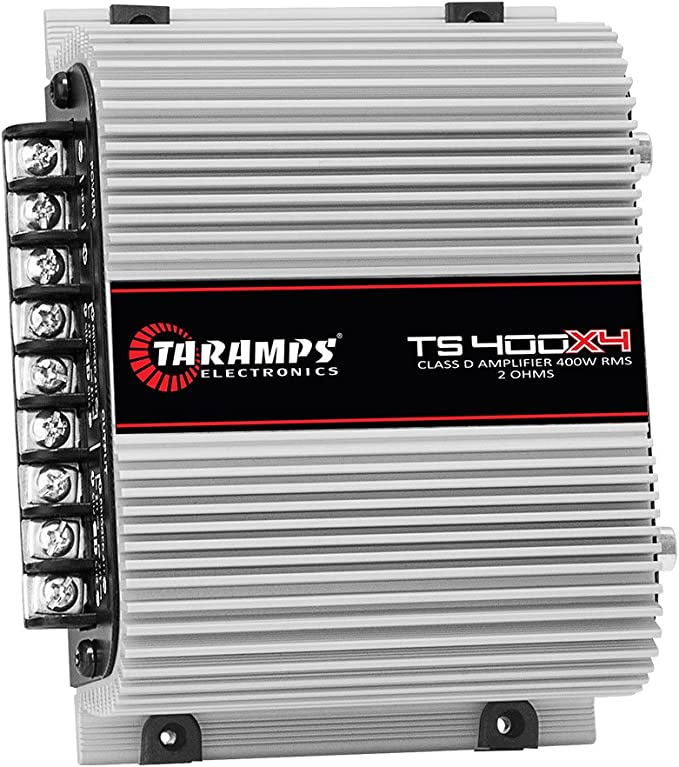 Taramp/'s TS 400X4 2 Ohms Channel Watts Class D Full Range Amplifier Car