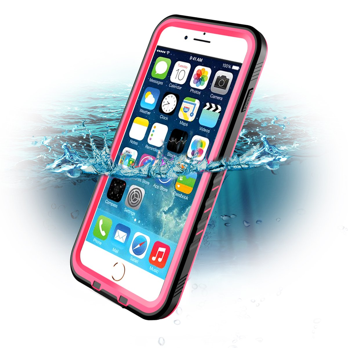 cc9d3445c77 Funda compatible con iPhone 7 Plus y iPhone 8 Plus con acceso a todos los  botones y puertos. Elaborado con materiales resistentes, está totalmente  sellado ...