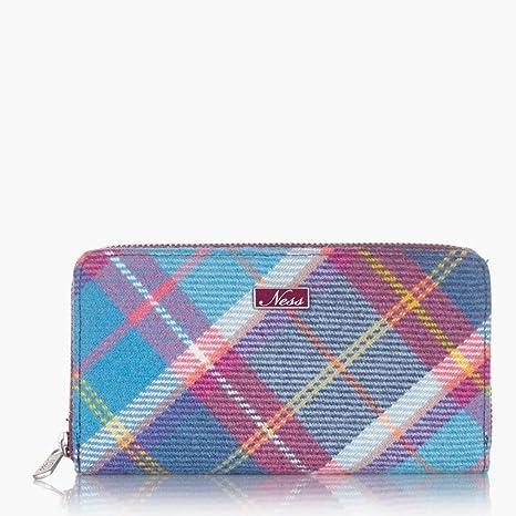 Ness Zippy - Monedero para Mujer, diseño de Tweed, Color ...