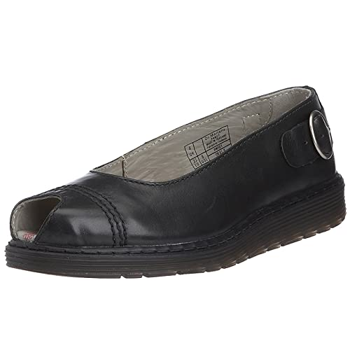 good service closer at popular stores Amazon.com | Dr. Martens Women's Pansy Flat, Black, 8 M UK ...