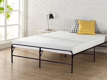 Amazon.com: Zinus 14 Inch BiFold Platform Bed Frame/Folding Mattress ...