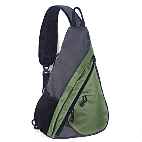 Buy Unigear Sling Bag Backpack Shoulder Crossbody Bag Chest Pack-Medium  Water Resistant Travel Backpack for Men Women (Green) Online at Low Prices  in India ... b0c691c9648cc